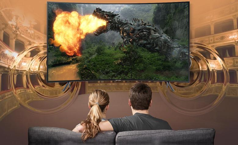 Công nghệ Digital Plus Smart Tivi Cong Samsung 49 inch UA49NU7300