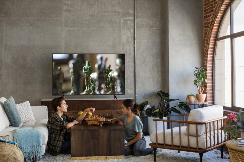Tổng quan thiết kế Smart Tivi Samsung 4K 58 inch UA58NU7103