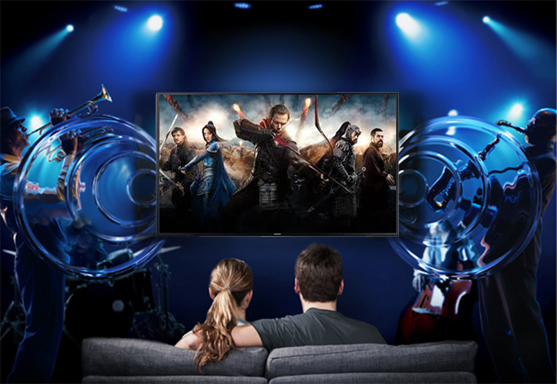 công nghệ Dolby Digital Plus Smart Tivi Samsung 4K 58 inch UA58NU7103