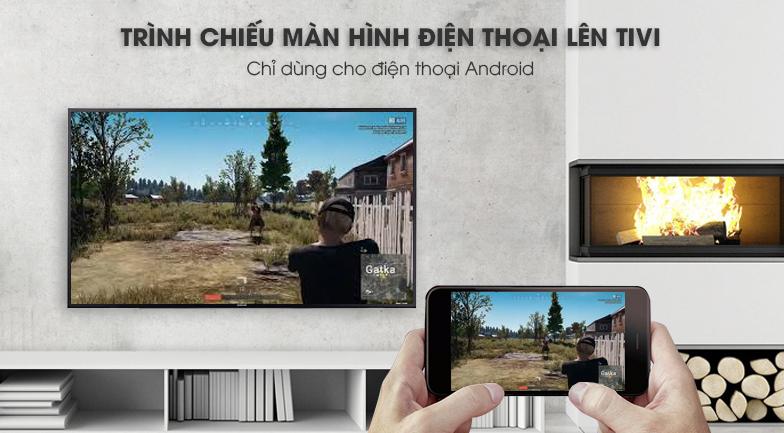 công nghệ Screen Mirroring Smart Tivi Samsung 4K 58 inch UA58NU7103