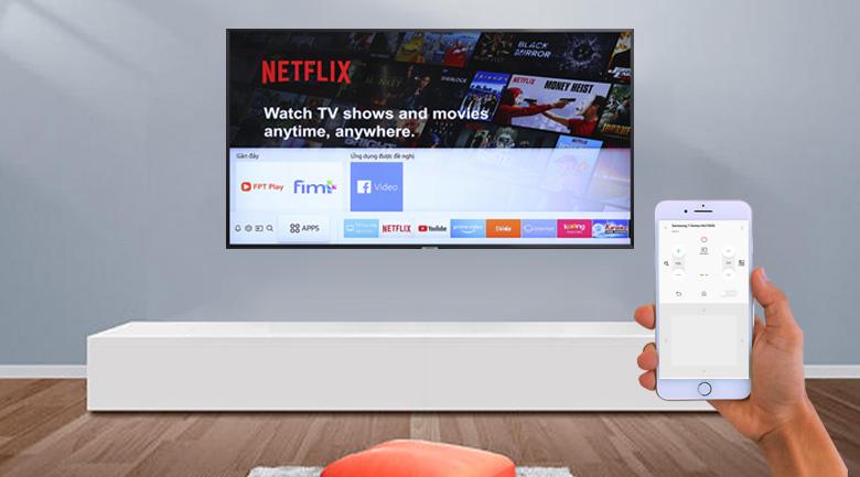 ứng dụng Samsung SmartThings Smart Tivi Samsung 4K 50 inch UA50NU7800