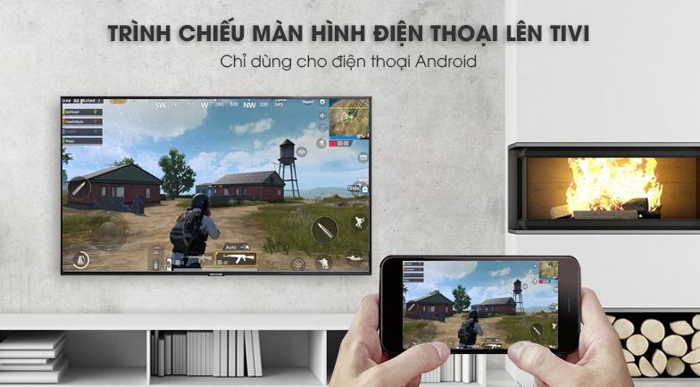 ứng dụng Screen Mirroring Smart Tivi Samsung 4K 50 inch UA50NU7800