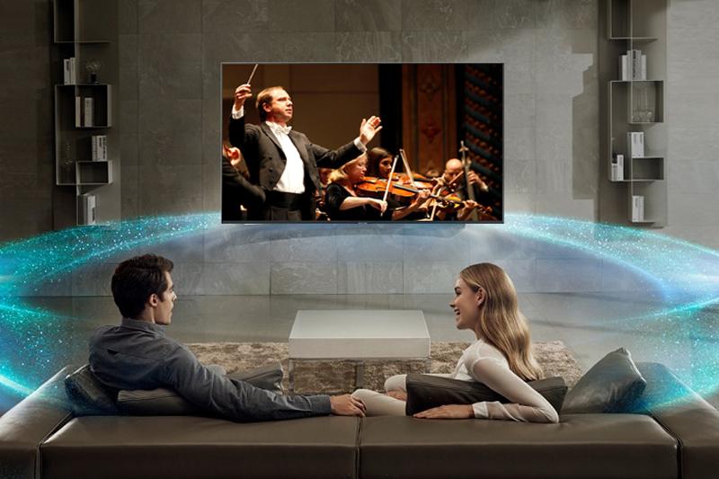 Công nghệ âm thanh trên Smart Tivi Samsung 4K 43 inch UA43NU7800