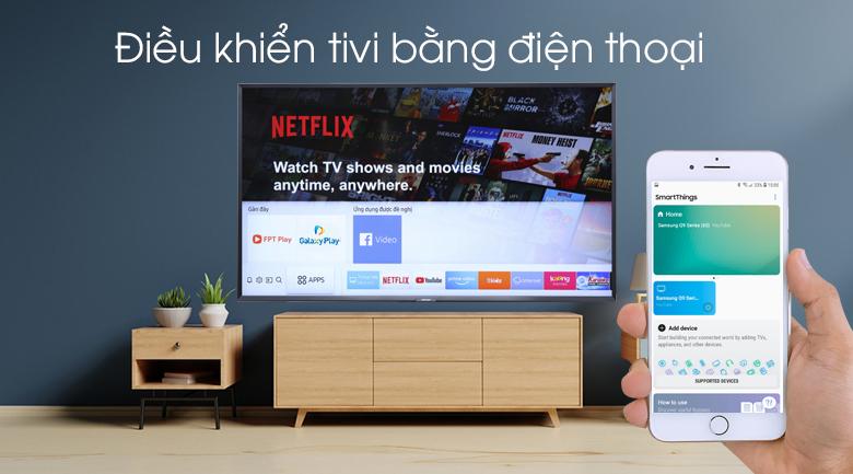 Điều khiển Smart Tivi Samsung 49 inch UA49N5500 bằng điện thoại