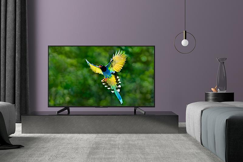Tổng quan thiết kế Smart Tivi Sony 4K 43 inch KD-43X7000F