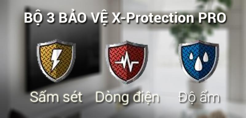 Công nghệ X-Protection PRO trên Smart Tivi Sony 4K 43 inch KD-43X7000F