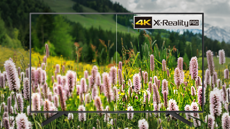 Công nghệ 4K X-Reality Pro trên Smart Tivi Sony 4K 43 inch KD-43X7000F