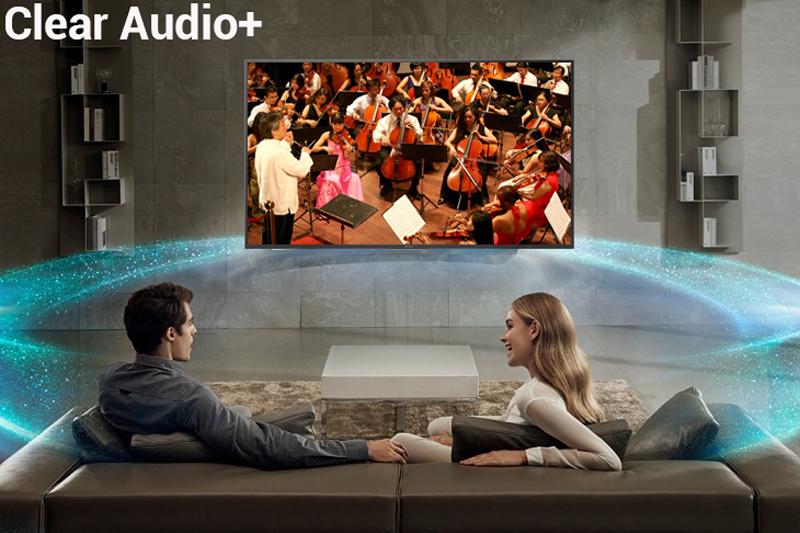 Công nghệ âm thanh Clear Audio+ trên Smart Tivi Sony 4K 43 inch KD-43X7000F