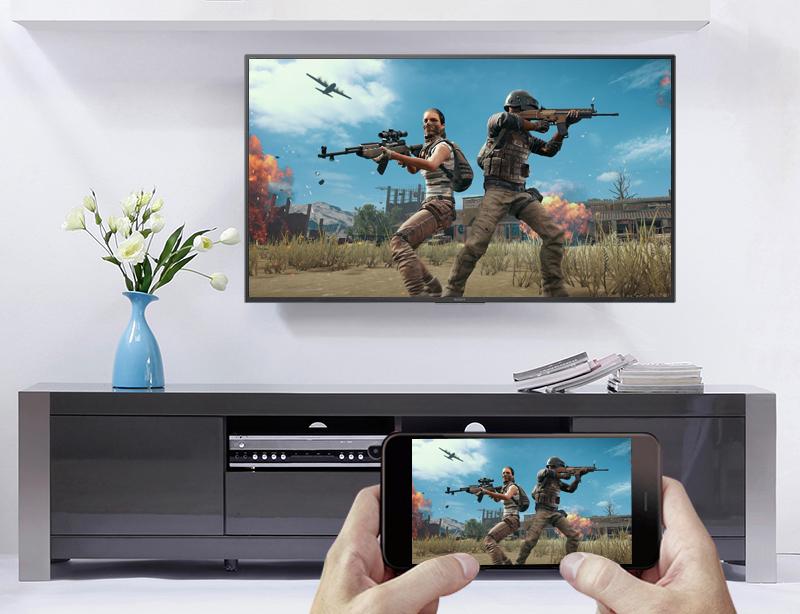 Chiếu màn hình điện thoại lên Smart Tivi Sony 4K 43 inch KD-43X7000F
