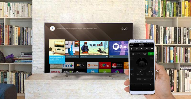 Điều khiển tivi bằng điện thoại bằng ứng dụng video tv sideview