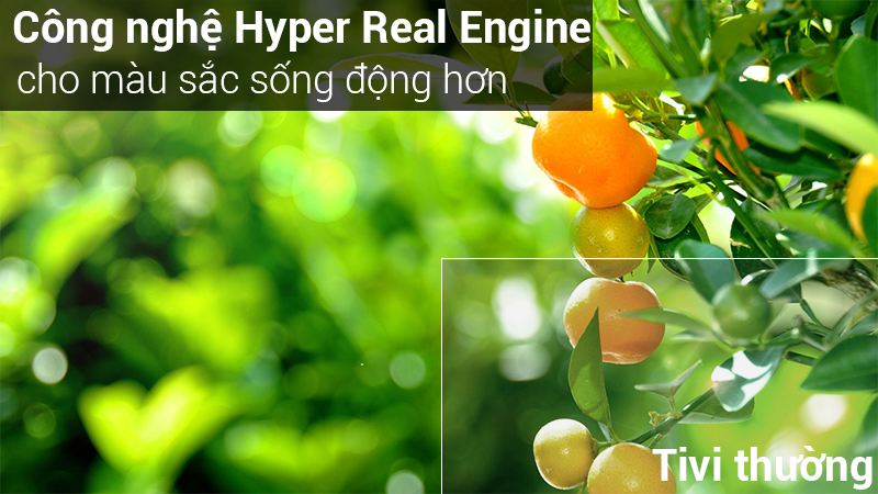 Công nghệ Hyper Real Engine trên Tivi Samsung 40 inch UA40J5250D