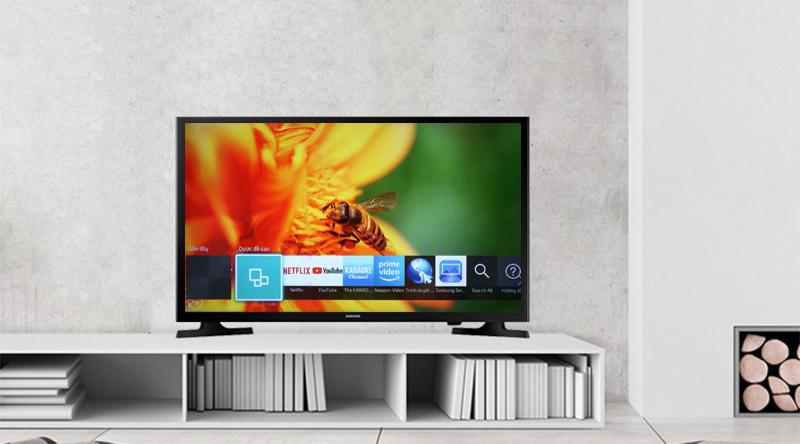 Giao diện Smart Hub dễ sử dụng trên Tivi Samsung 40 inch UA40J5250D