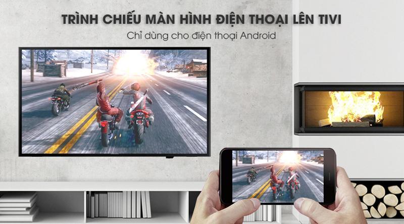 Chiếu màn hình điện thoại lên Tivi Samsung 40 inch UA40J5250D