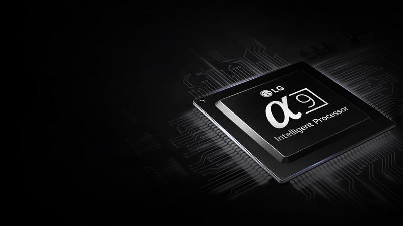 Chip xử lý hình ảnh Alpha 9 trên Tivi OLED LG 65C8PTA