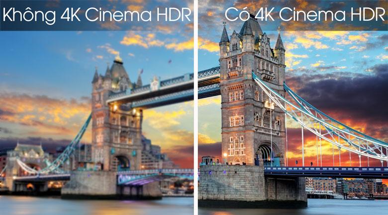 Smart Tivi OLED LG 4K 65 inch 65C8PTA - Công nghệ 4K Cinema HDR