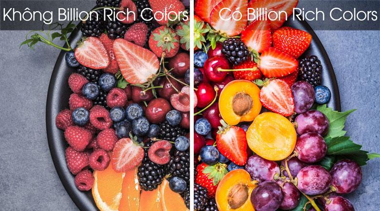 Smart Tivi OLED LG 4K 65 inch 65C8PTA - Công nghệ Billion Rich Colors