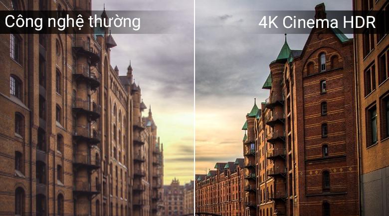 Chế độ 4K Cinema HDR trên Tivi OLED LG 65C8PTA