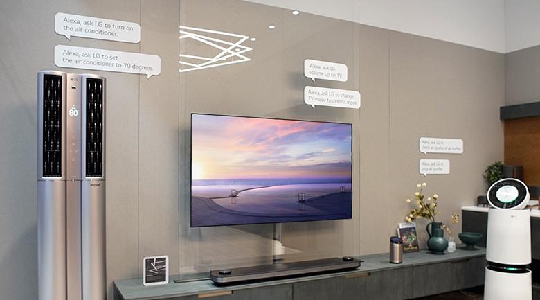 Trí triệu nhân tạo AI trên Tivi OLED LG 65C8PTA