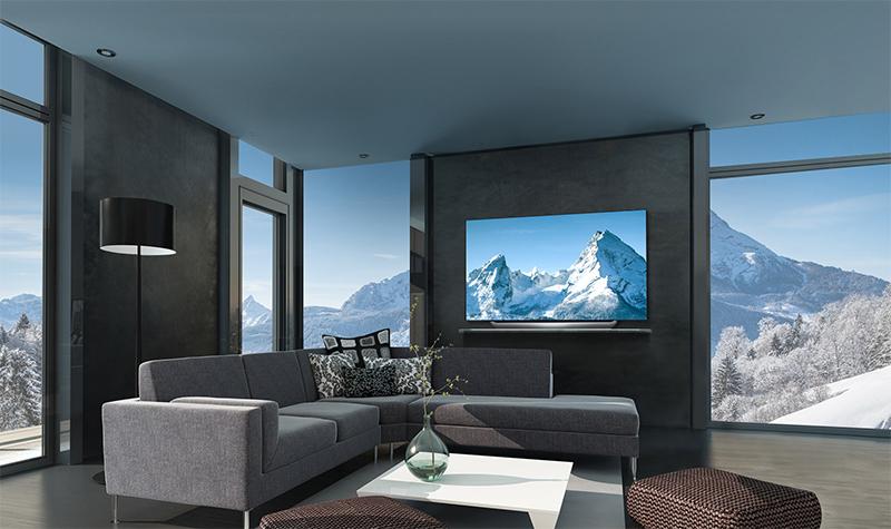 Tổng quan thiết kế Smart Tivi OLED LG 4K 55 inch 55C8PTA