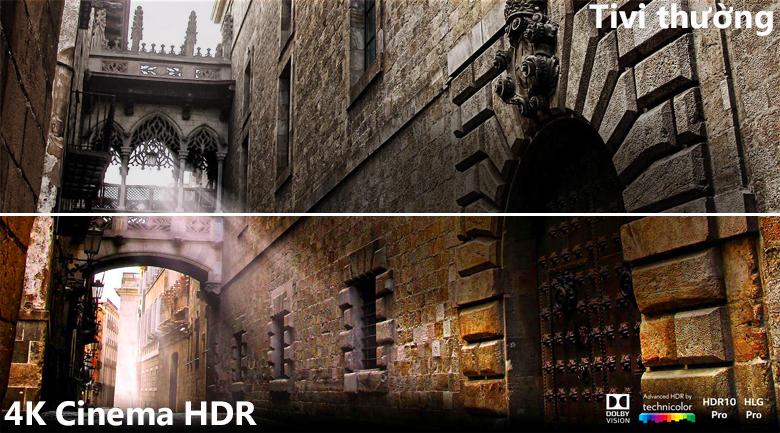 Công nghệ 4K Cinema HDR