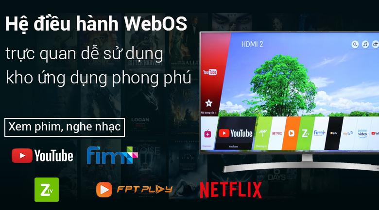 Hệ điều hành WebOS 4.0 dễ sử dụng