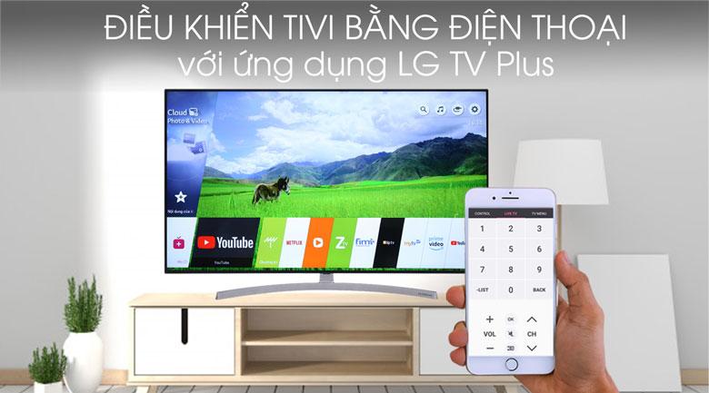Smart Tivi NanoCell LG 4K 55 inch 55SK8500PTA