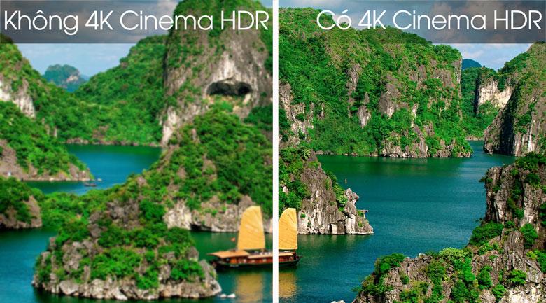 Smart Tivi LG 4K 55 inch 55SK8500PTA - Công nghệ 4K Cinema HDR