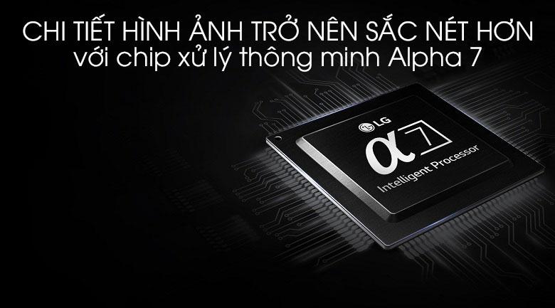 Smart Tivi LG 4K 55 inch 55SK8500PTA - Chip xử lý độc quyền Alpha 7