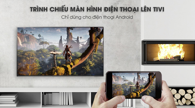 ứng dụng Screen Mirroring Smart Tivi LG 4K 49 inch 49SK8500PTA