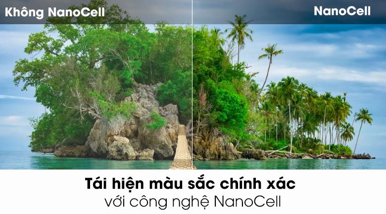 Smart Tivi NanoCell 4K 49 inch 49SK8500PTA - Công nghệ màn hình NanoCell