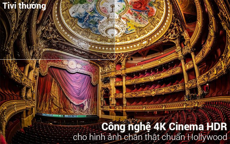 Công nghệ 4K Cinema HDR trên Smart Tivi LG 4K 49 inch 49SK8500PTA
