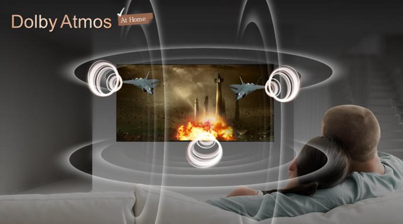 Công nghệ âm thanh Dolby Atmos trên Smart Tivi LG 4K 49 inch 49SK8500PTA