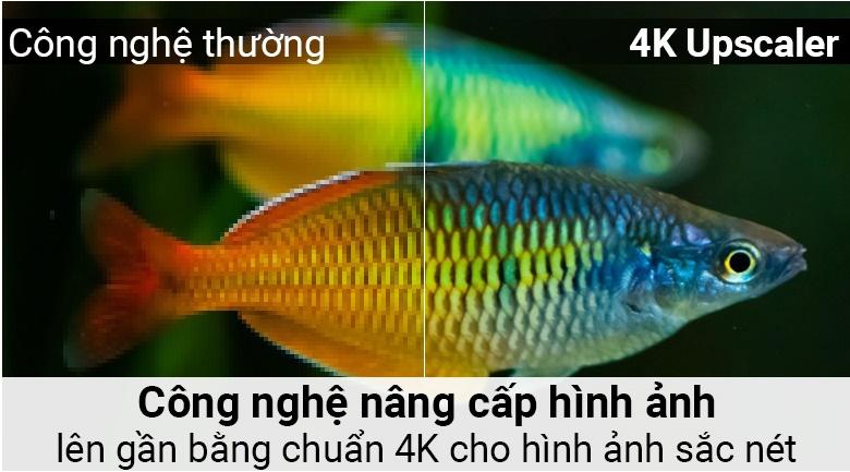 Công nghệ 4K Upscaler trên Smart Tivi LG 4K 43 inch 43UK6340PTF