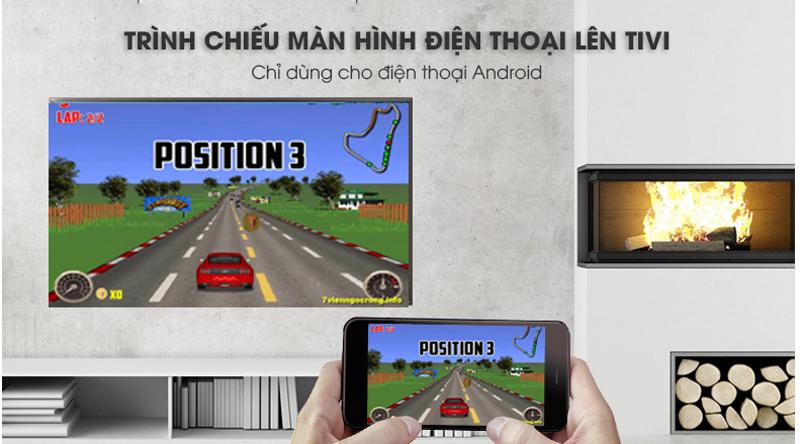Chiếu màn hình điện thoại lên Smart Tivi LG 4K 49 inch 49UK6340PTF