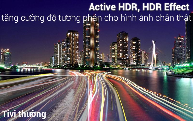 Công nghệ HDR trên Độ phân giải 4K sắc nét trên Smart Tivi LG 4K 49 inch 49UK6340PTF