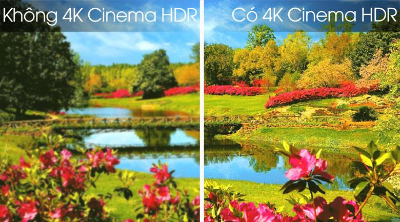 Smart Tivi OLED LG 4K 55 inch 55B8PTA - Công nghệ 4K Cinema HDR