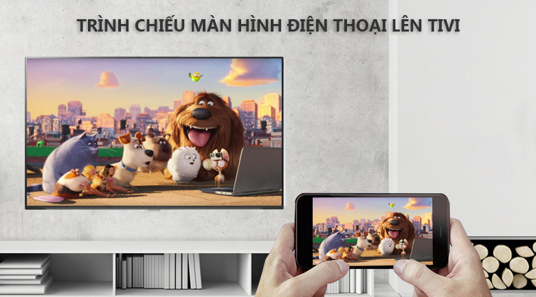 Chiếu màn hình điện thoại lên tivi