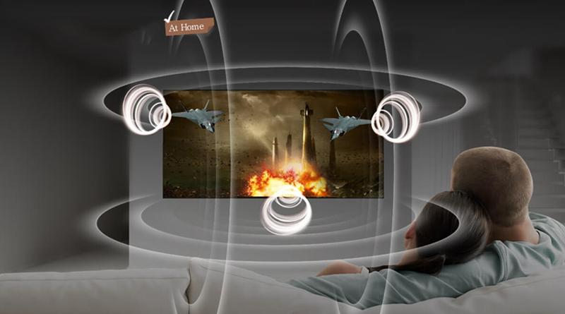 Công nghệ âm thanh DTS trên Smart Tivi LG 4K 65 inch 65UK6540PTD