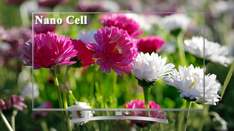 Công nghệ Nano Cell trên Smart Tivi LG 4K 49 inch 49UK7500PTA