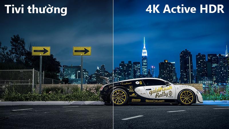 Công nghệ Active HDR Smart Tivi LG 4K 55 inch 55UK6100PTA
