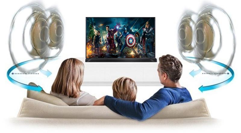 Chế độ âm thanh DTS Virtual:X trên Smart Tivi LG 4K 55 inch 55UK6100PTA