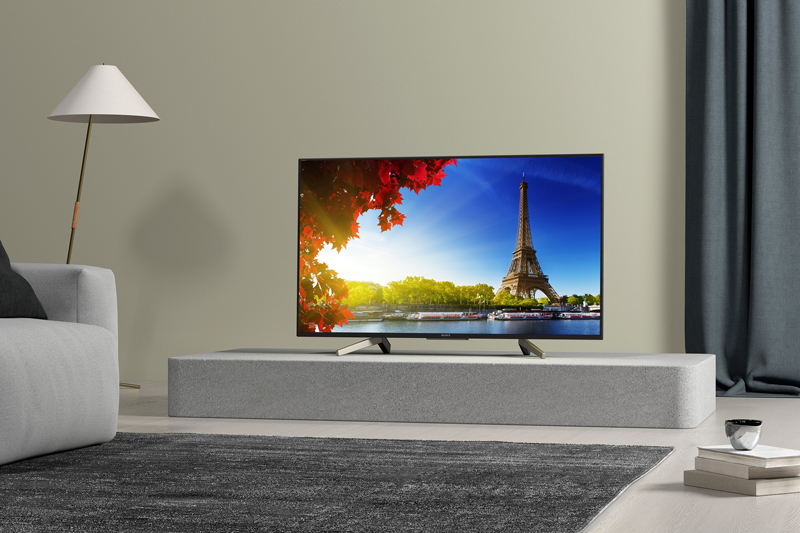 Tổng quan thiết kế Android Tivi Sony 4K 55 inch KD-55X7500F