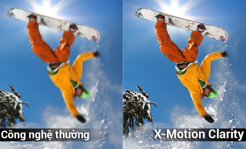 Công nghệ Công nghệ X-Motion Clarity trên Android Tivi Sony 4K 85 inch KD-85X9000F