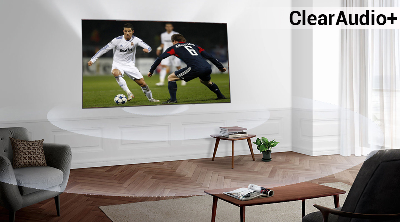 Công nghệ âm thanh ClearAudio+ trên Android Tivi Sony 4K 85 inch KD-85X9000F