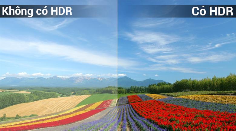 Công nghệ HDR trên Smart Tivi LG 49 inch 49LK5700PTA cho hình ảnh chân thật, rõ nét
