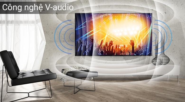 Công nghệ âm thanh V-audio trên Smart Tivi Panasonic 50 inch TH-50FS500V