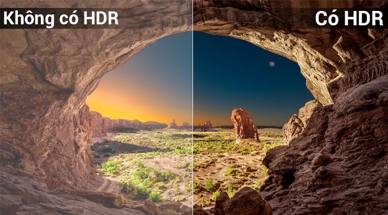 Công nghệ HDR tối ưu hóa độ tương phản