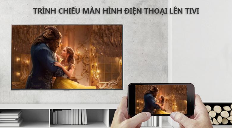Chiếu nội dung màn hình điện thoại lên tivi