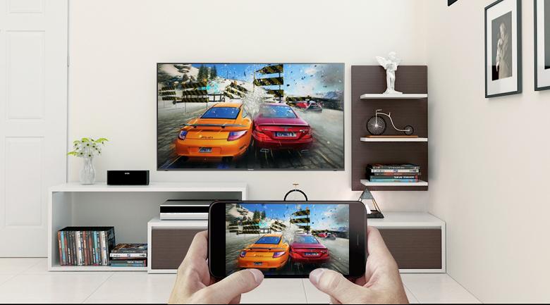 Chiếu màn hình điện thoại lên tivi thông qua tính năng Screen Mirroring