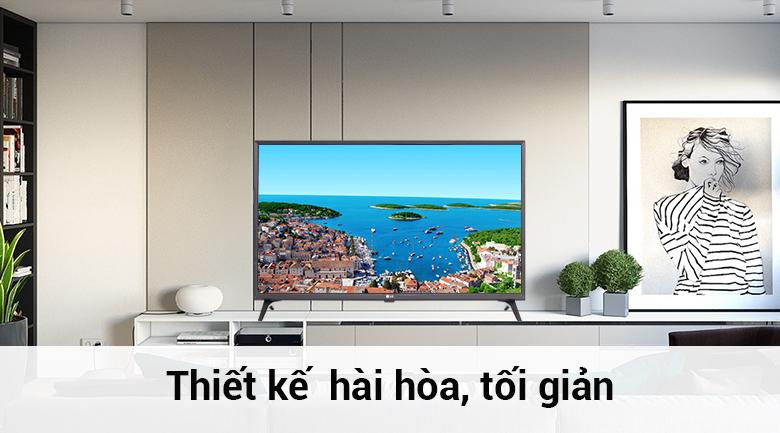 Thiết kế sang trọng và chắc chắn cho smart tivi lg 32 inch 32lk540bpta